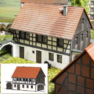 1505 Half Timbered House Laser cut kit